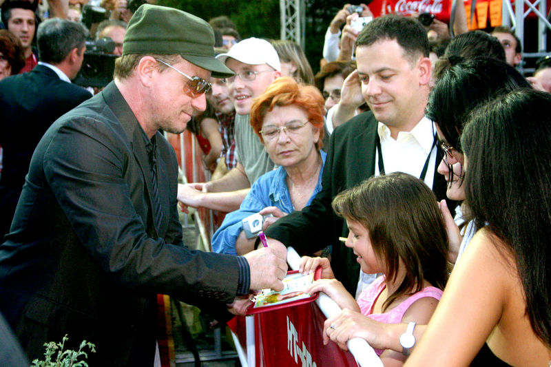 Bono dans les Balkans